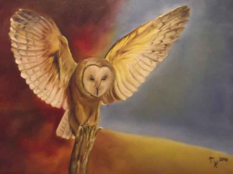 Owl...ruler of the night and seer of souls -