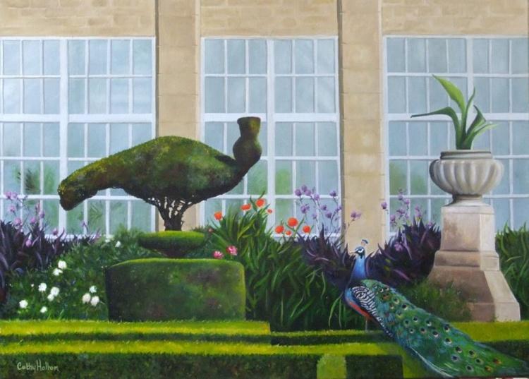 'Peacock Garden' - Image 0
