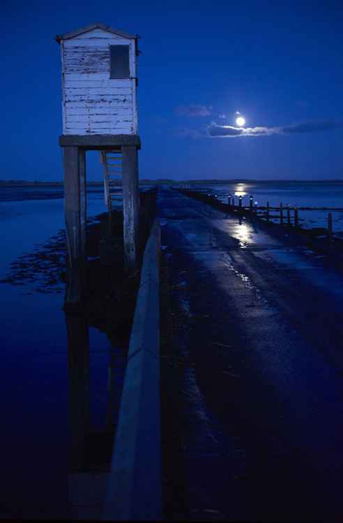 Holy Island Causeway Bridge - Northumbria -