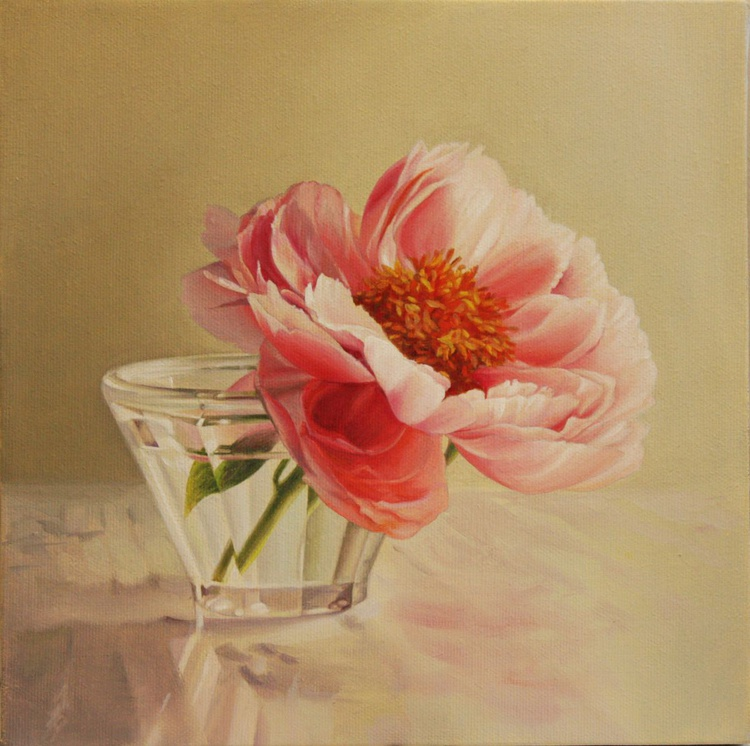 peony in a glass - Image 0