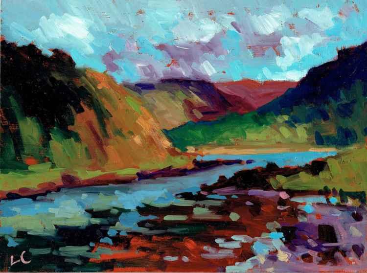 Loch Feochan, Western Isles Scotland