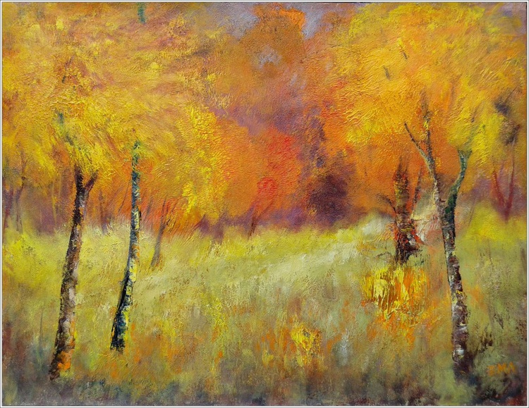 THANK YOU FOR THE AUTUMN, 70x50cm - Image 0
