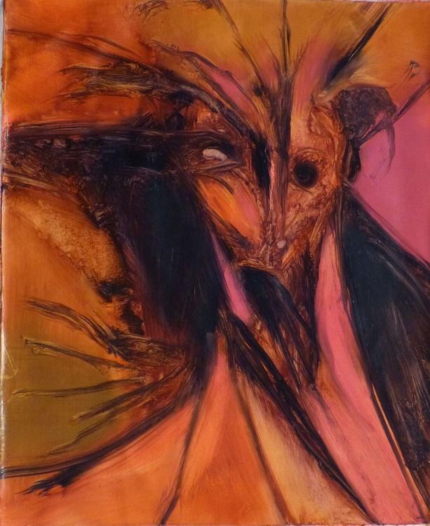 Devil's Tree, oil on canvas, 61x50 cm - Image 0