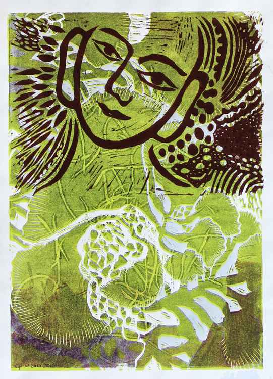 Buddha Wearing Green -