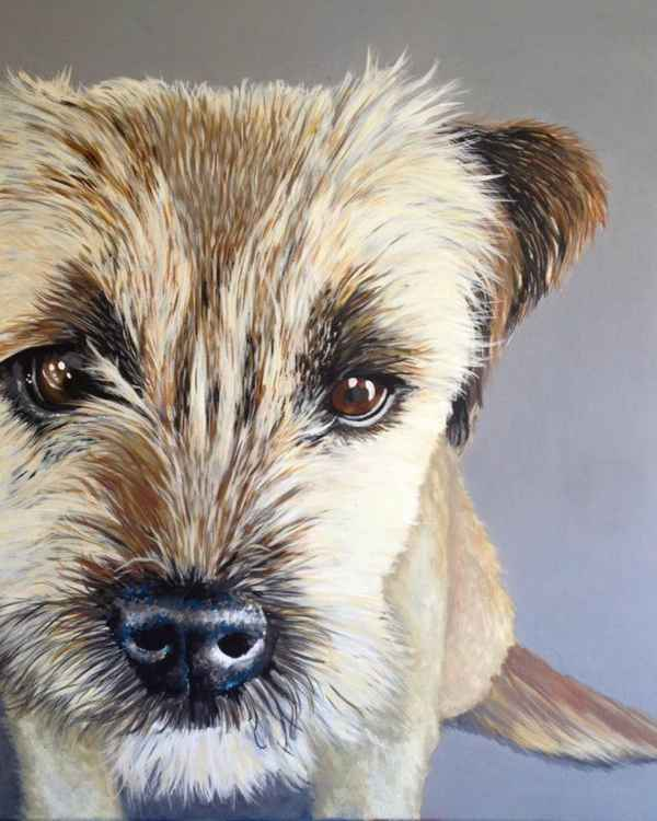 Original Painting of 'Jake' by Kirstin Wood -