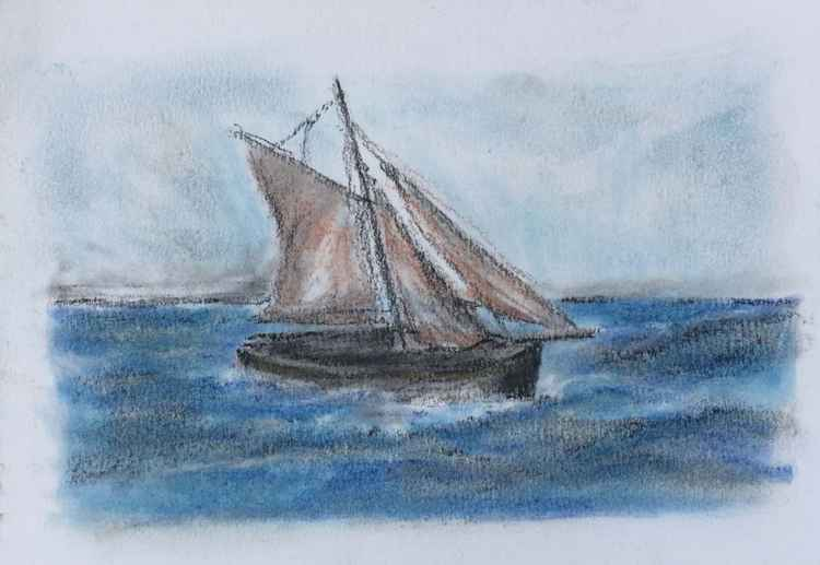 Sailboat No 5 -