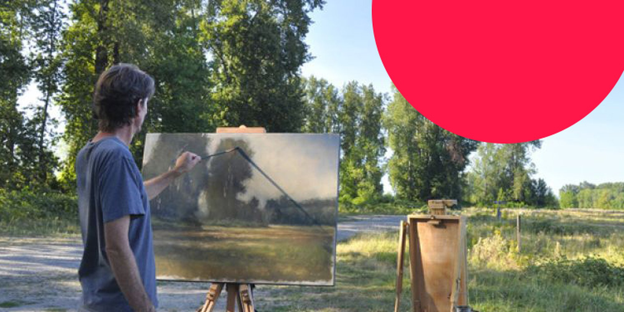Portland artist Don Bishop on painting plein air, romanticism and using Artfinder to connect with art lovers across the world.