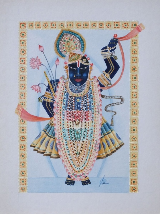 SHREENATHJI ~ (ANONTHER FORM OF LORD SHRI KRISHNA) - Image 0