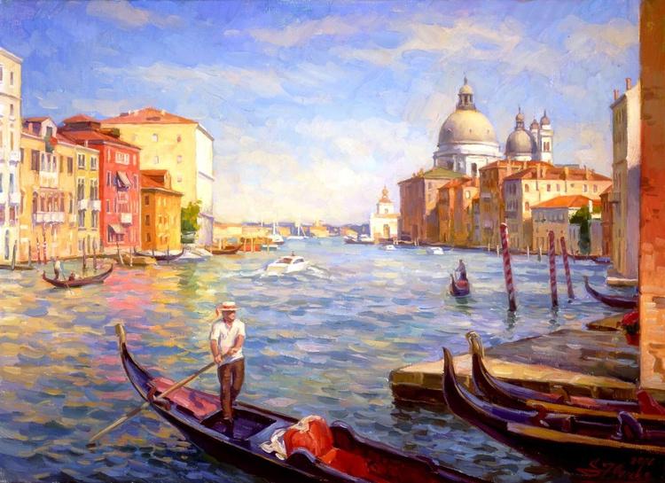 Venice. Grand canal, 46x63cm, 2006 - Image 0