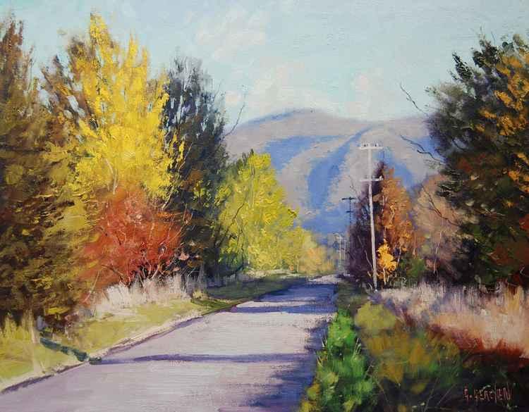 Sunny Autumn Day Tumut -