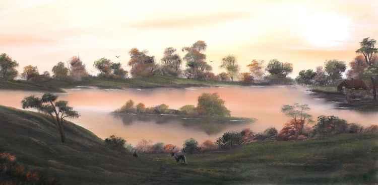 Autumnal Morning Glory. -