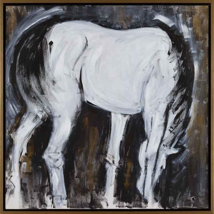 Grazing Horse -