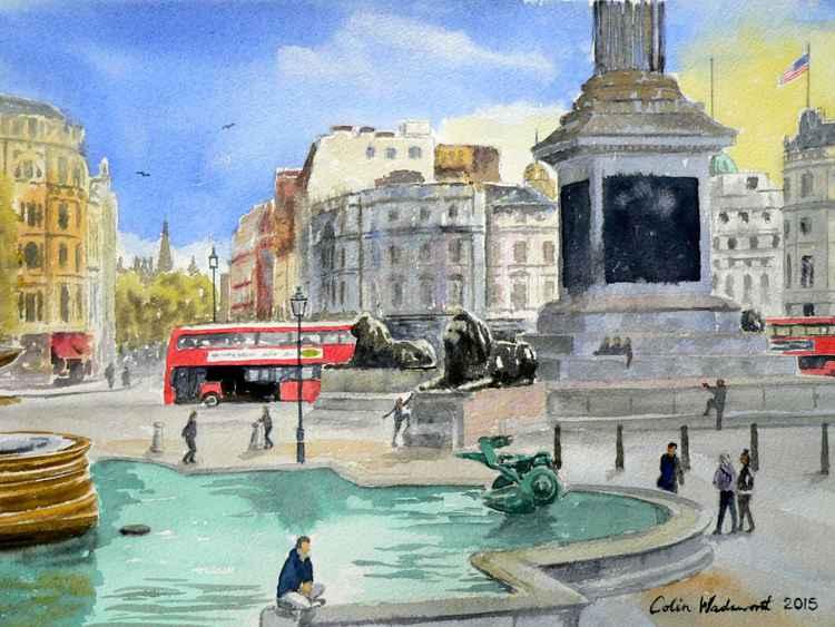 Trafalgar Square, London -