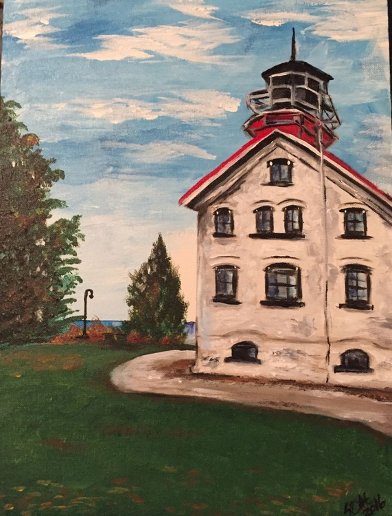 Lighthouse Series #4 - Grand Traverse Light - Image 0