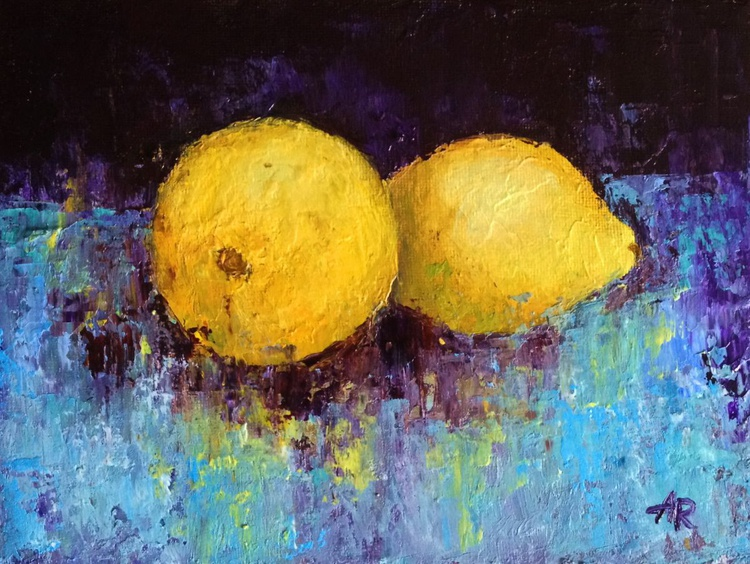 Still life with lemons - Image 0