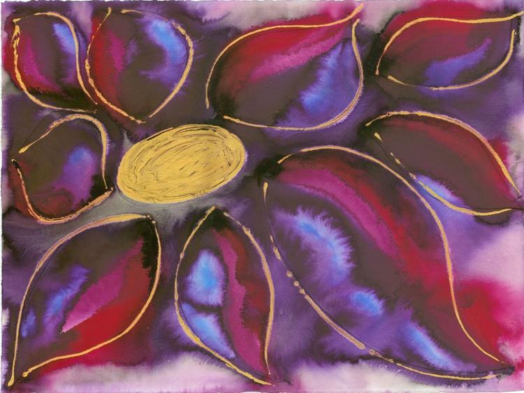 Polypetalous 4 - Purple Rainbow - Image 0