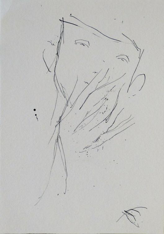 Tiredness, 17x24 cm - Image 0