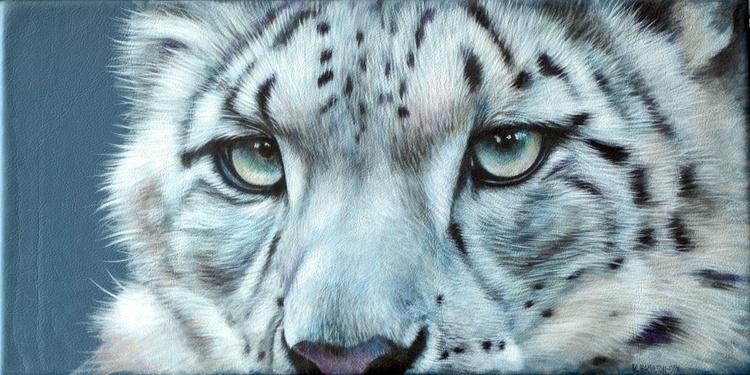 Snow Leopard Eyes - Image 0