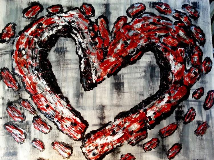 Flaming Heart - Image 0