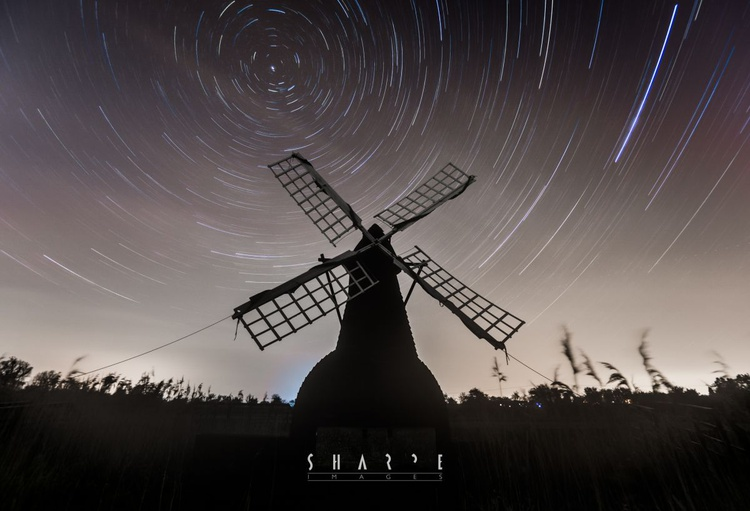 Startrails at Wicken Fen - Image 0