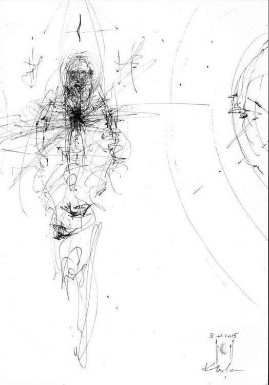 OVIDIU KLOSKA \S ANGELS LINES LIKE HUMAN SPIRITUAL ENERGY GOD CREATIONS HUMAN DESIRE - Image 0