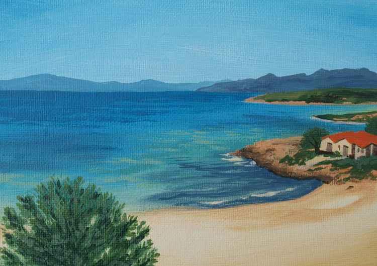 Kalogria Beach -