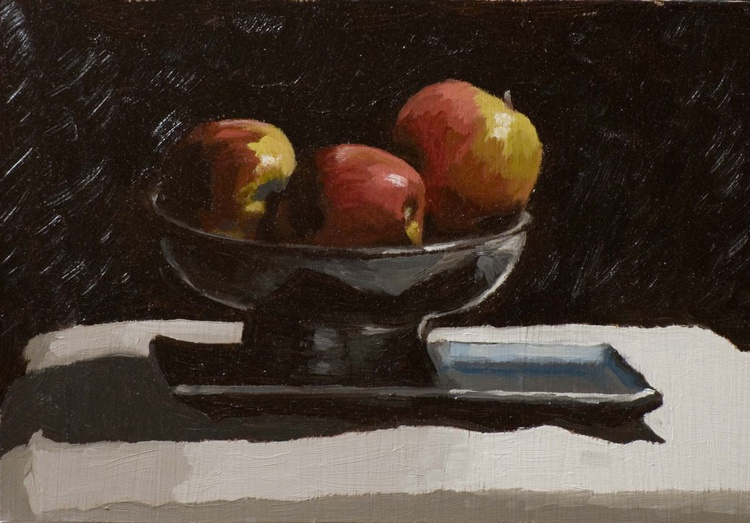 Three Apples - Image 0
