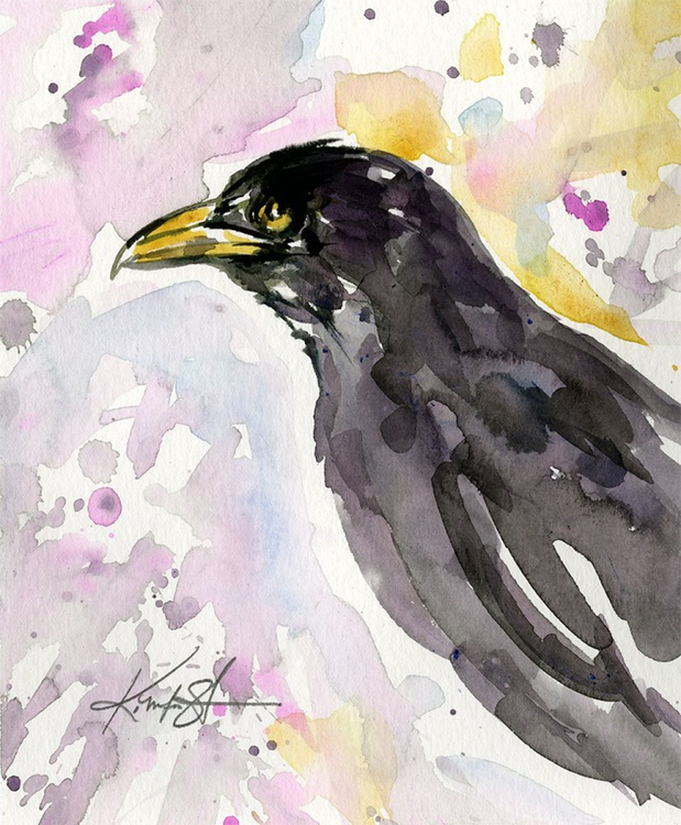 From the Crow & Raven Series - Sketch No. 7 - Image 0