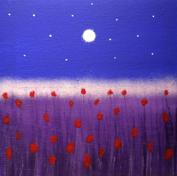""""""" roses at the moon valley """" ( miniature size ) - Image 0"""
