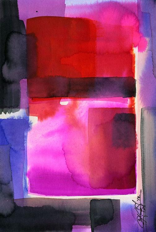 Watercolor Abstraction No. 219 - Image 0