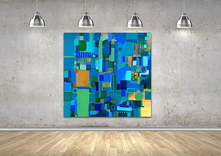 Urban Vista -Large Canvas - Image 0