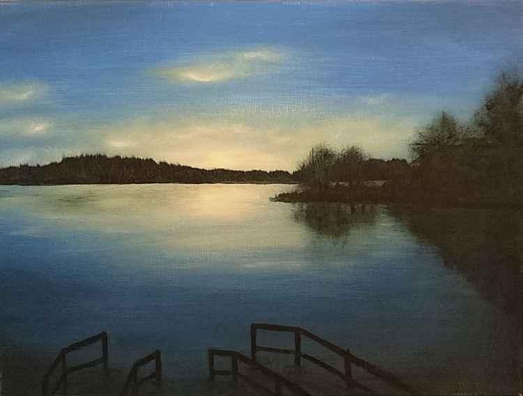 Evening on the Riihisaari -