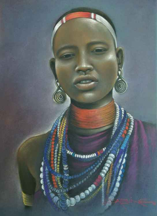 African Beauty -