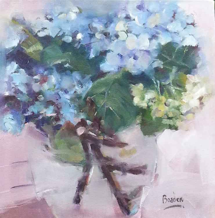 Hydrangeas at Valley Bakery