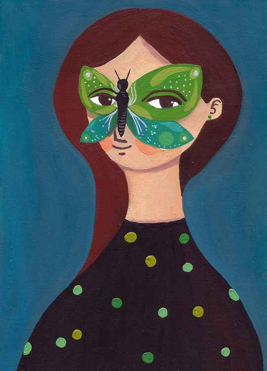 Masquerade, the butterfly -