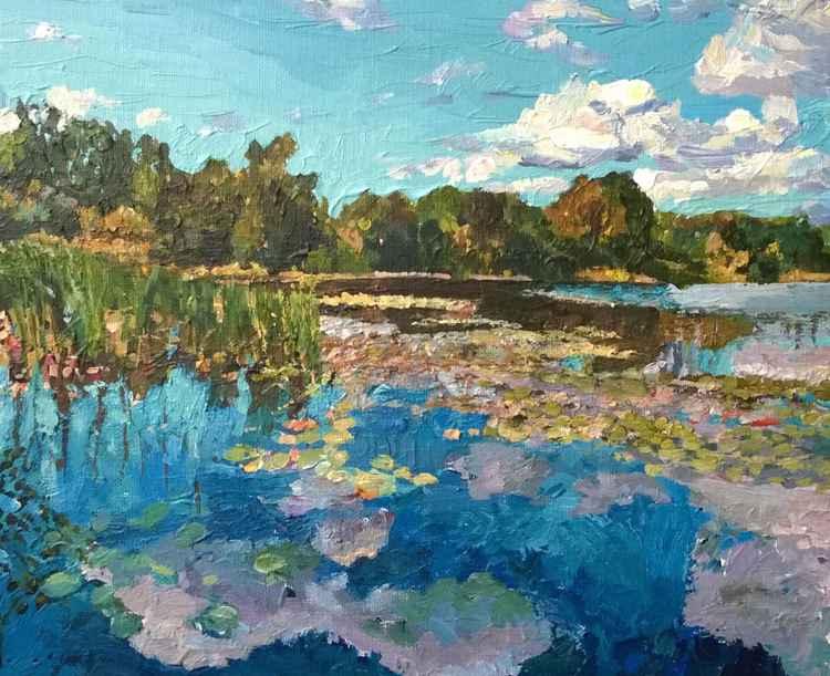 The Blue Lake -