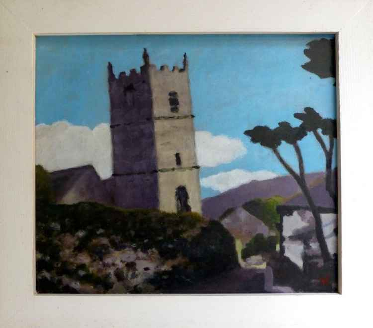 Zennor Church. -