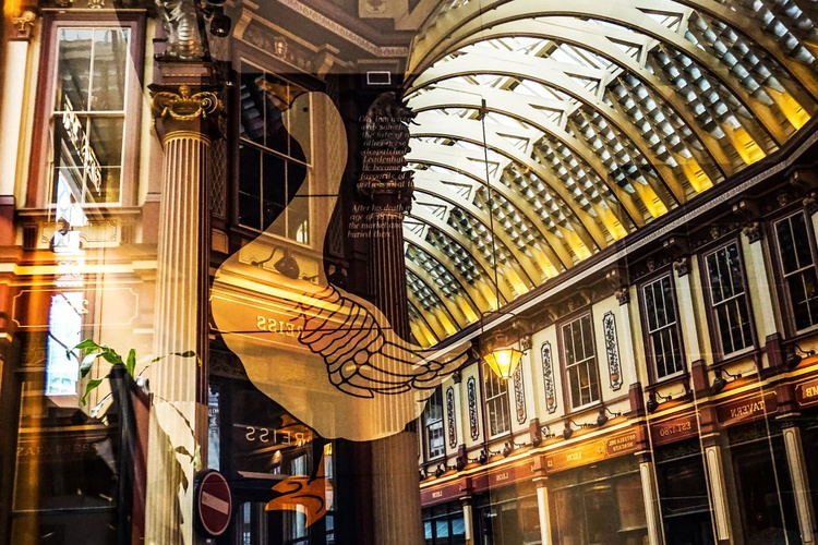 "The Goose of Leadenhall Market  ( LIMITED EDITION 1/50) 18""x12"" - Image 0"