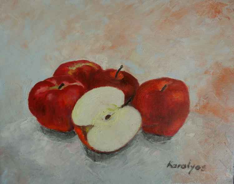 Red apples -