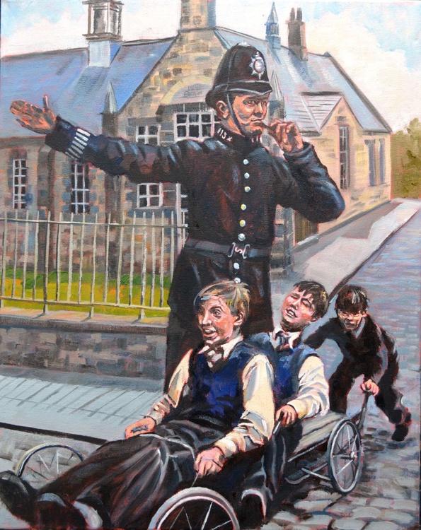 Schools out British icon No. 3 - Image 0