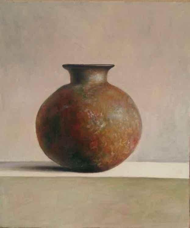 Clay vase -