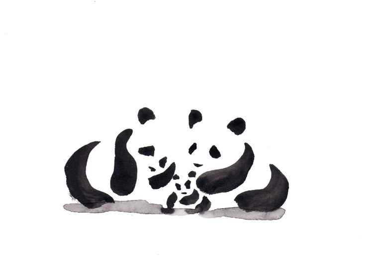 Two pandas and a cub 2115C