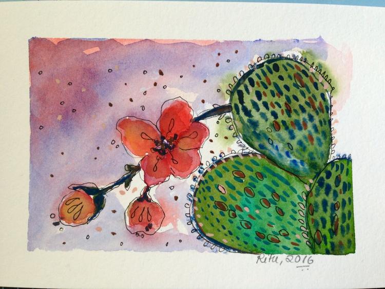Cactus flower - Image 0