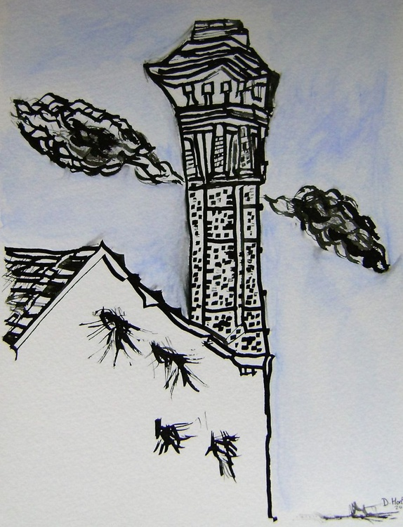 Blue tower - Image 0
