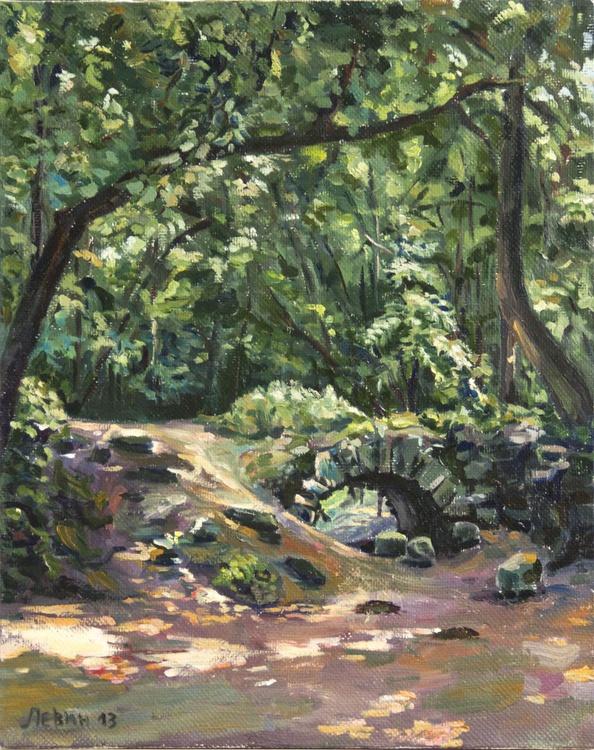 Stone Brige in Park - Image 0