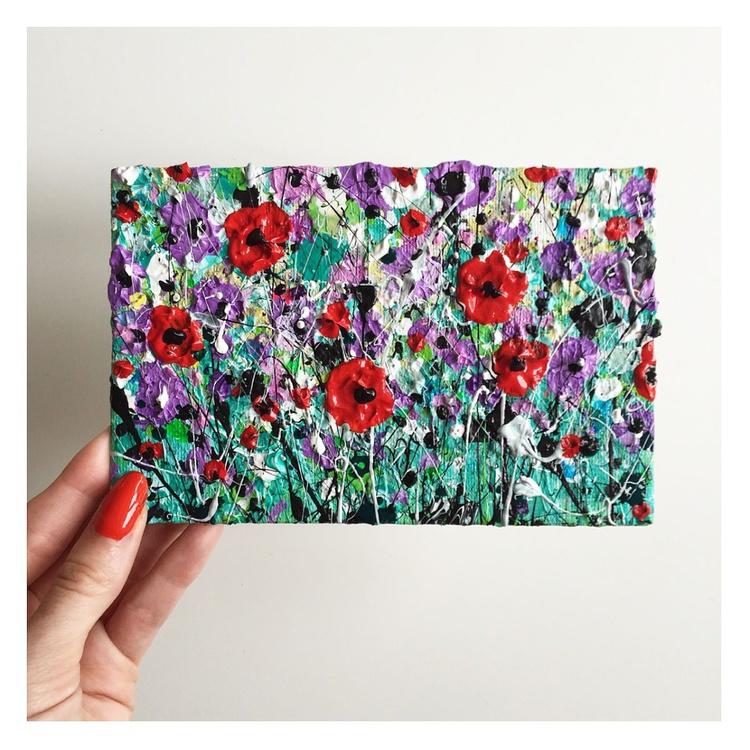 Purple Poppy Burst - Image 0