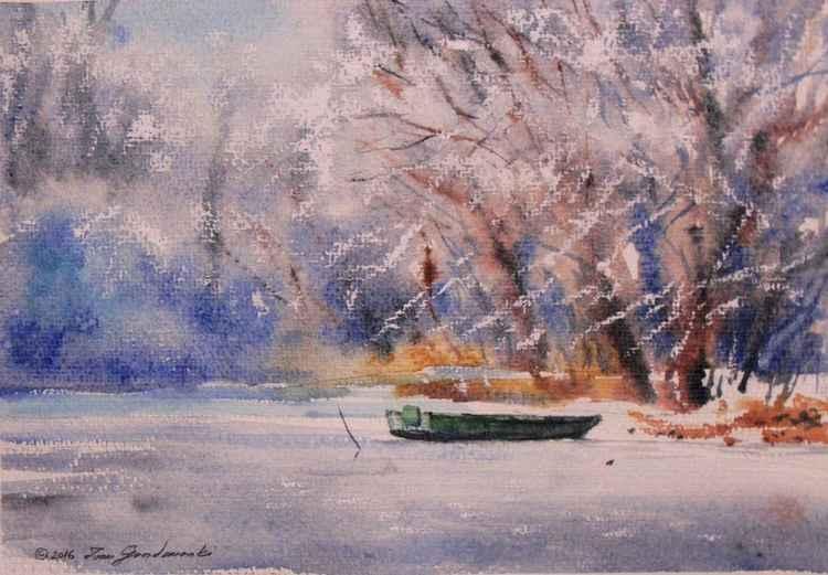 Dreamy winter silence
