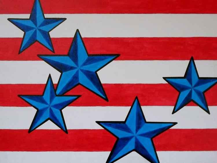 Original - American Flag -