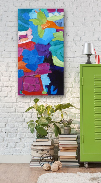 "Gummy Bears- 18 x 36""/46 x91 cm - Image 0"