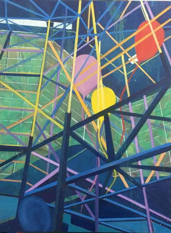 Balloon Ballet at the Conv. Ctr., L.A.